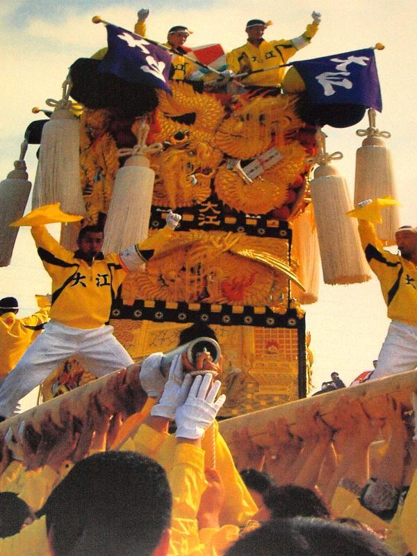 2009年度 新居浜太鼓祭り ポスター