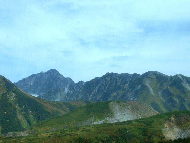 立山高原バス 車窓からの風景