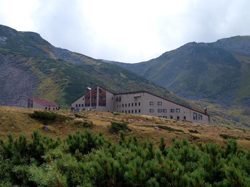 立山黒部アルペンルート 室堂 立山ホテル 景色