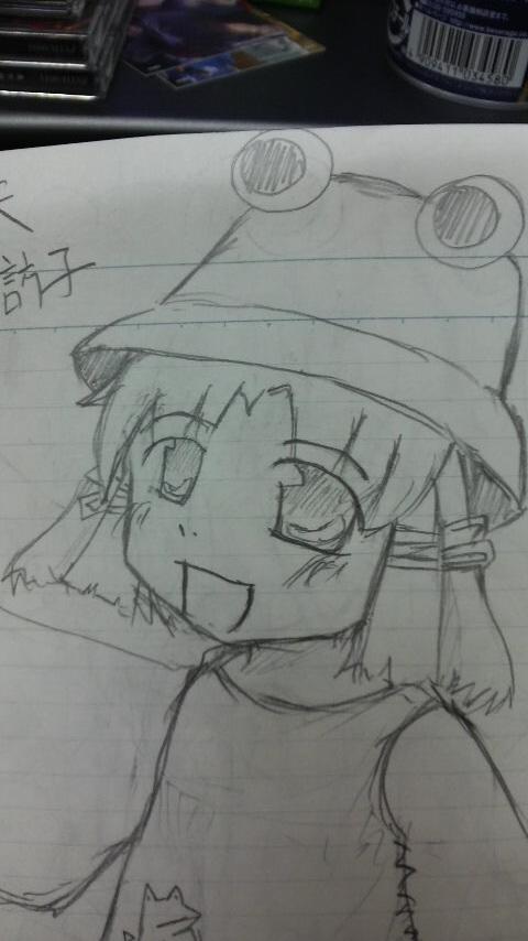 洩矢諏訪子2