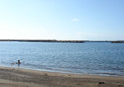 9月に海へ行ったときの写真。