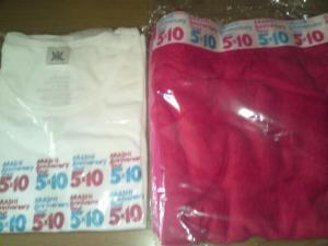5×10ツアー バスタオル&Tシャツ