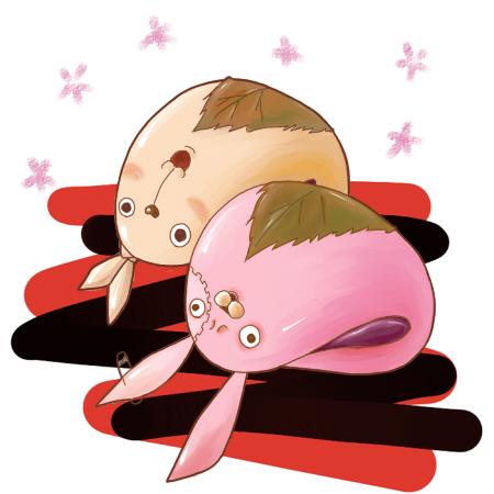 キレる桜餅