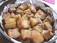 豚バラ肉の味噌漬けロースト