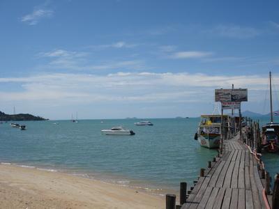 サムイ島の天気 ボプットビーチ 14SEP