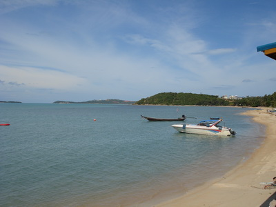 サムイ島の天気 ボプットビーチ 14SEP②