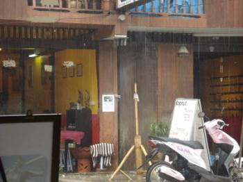 サムイ島の天気 10月24日 雨