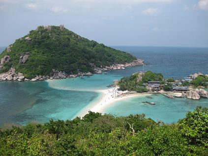 タイ・サムイ島・天気・ナンユアン島ビーチ02