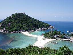 タイ・サムイ島・天気・ナンユアン島ビーチ01