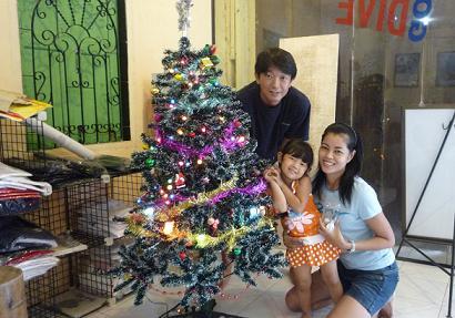 タイ・サムイ島・天気・クリスマスツリー