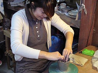 一日体験陶芸教室3