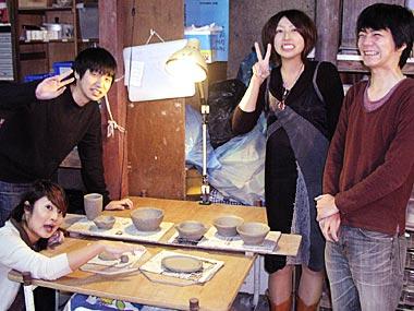 一日体験陶芸教室4