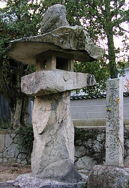 阿弥陀寺灯籠