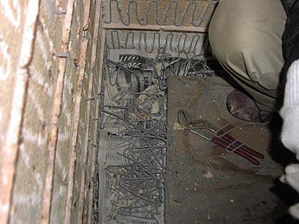 電気窯修理2