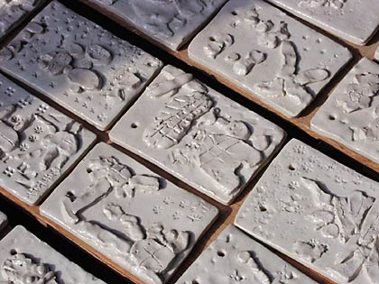 園児陶板3