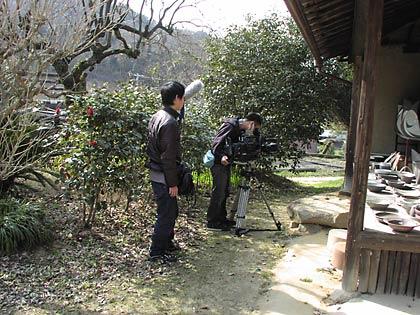 テレビ取材1