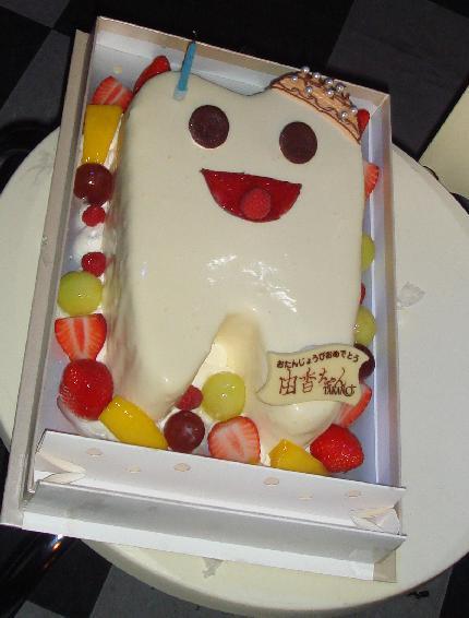 歯のケーキ