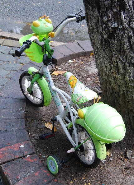 カマキリ自転車