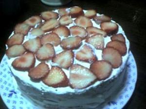 お誕生日のケーキ