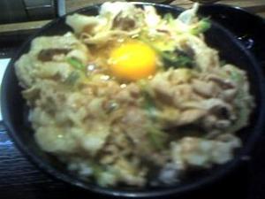 伝説のすた丼(すたみな丼玉子)