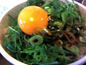 すき家(葱玉豚丼)
