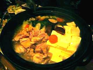 新宿釜焼鳥本舗(鶏鍋1)