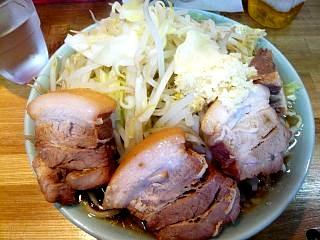 ラーメン髭(チャーシュー麺3)