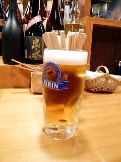 かがり火(生ビール)