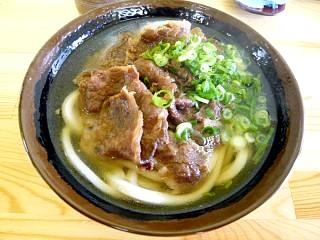 斉賀製麺所(肉うどん)