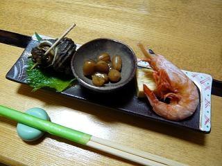 なかむら(付き出し3種)