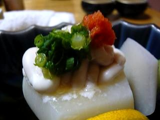 なかむら(蕪と白子アップ)