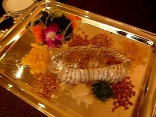 花梨(太刀魚刺身)