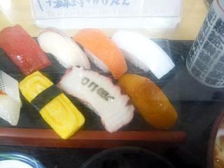寿司(ランチの寿司)