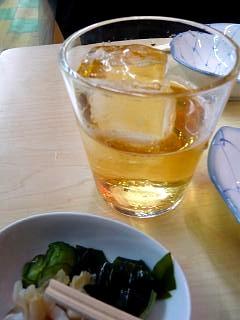 二毛作(お酒とお通し)