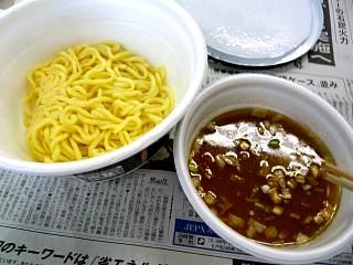 カップつけ麺