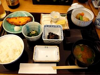 花山(朝定食)
