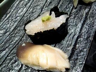 八千代寿司(白海老、ほっき)