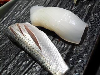 八千代寿司(小鰭、烏賊)