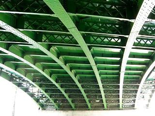 交差点の陸橋