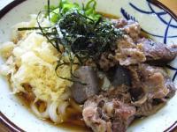 味見亭(牛すじうどん2)