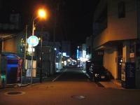 アップタウン(帰り道)