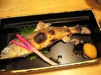 徳多和良(鮎塩焼き1)