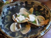 魚金(浅蜊と鱧)