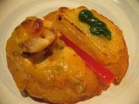 麟(芋餅の二色味噌焼き2)