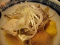 麟(南瓜ニョッキと鳥つくね団子鍋)