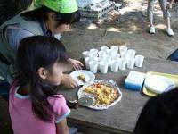 ピザ(見つめる子供)