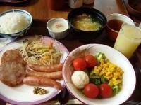 ホテル(朝食)