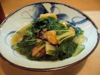 カナマターク(しろ菜のピリ辛煮)
