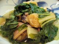 カナマターク(しろ菜のピリ辛煮2)