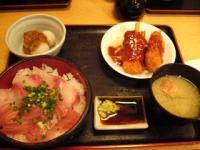 湯浅(二色丼ランチ全体)